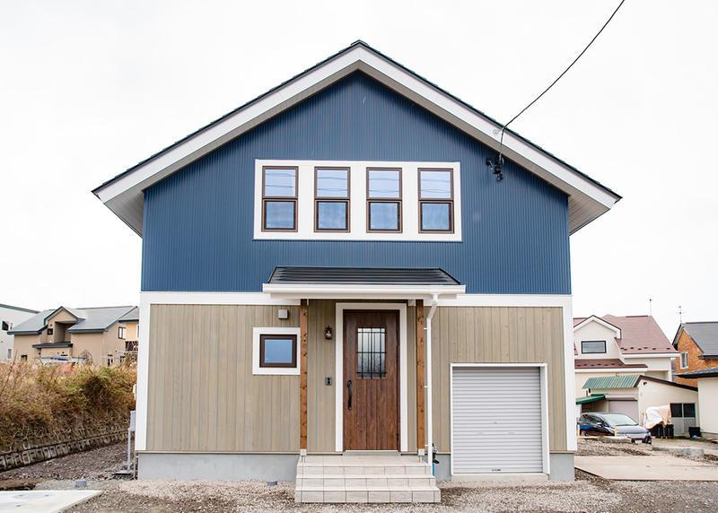 薪ストーブで心豊かな暮らしができる三角屋根のお家[BinO ALLen-WAKE]