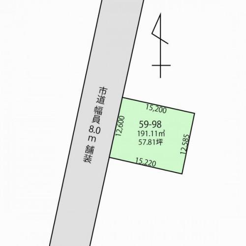 【新着売土地情報】函館でおしゃれな家を建てませんか? 八幡町 57.81坪