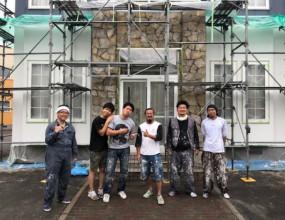 函館の住まいを楽しく!これがハウジング・コバヤシの外壁リノベーションだ!!