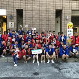 港まつり わっしょい函館 十字街にてイカ踊りでワッショイ。