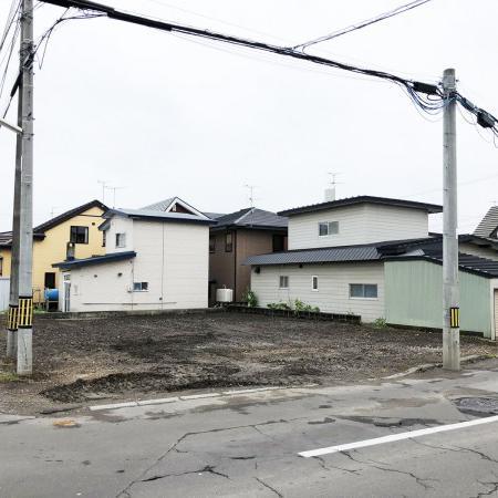 【新着売土地情報】函館でおしゃれでかわいい家を建てるなら 神山3丁目 72.84坪