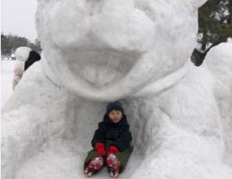 氷の祭典へ・・・・・ @大沼国定公園