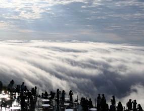 ホントは こんな雲海テラス