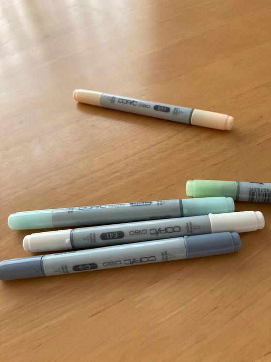 コピックペンがおもちゃになってしまいました・オープンハウス情報♪