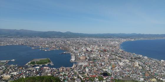 久しぶりの函館山・・・